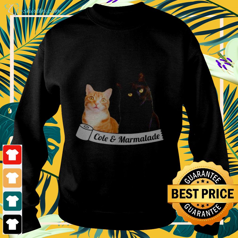 Cole and Marmalade cat sweater