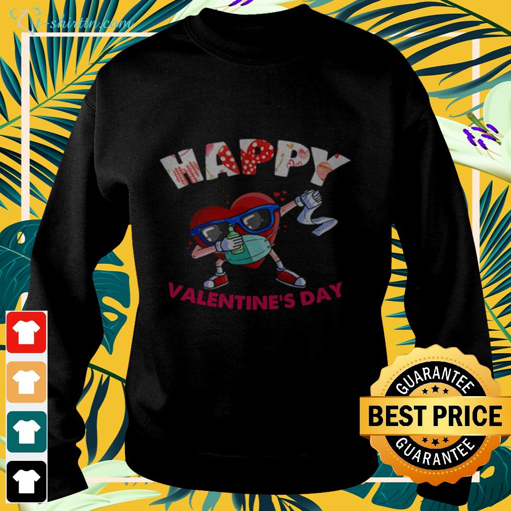 dabbing-heart-in-mask-valentines-day-2021-sweater Dabbing heart in mask Valentines day 2021 shirt