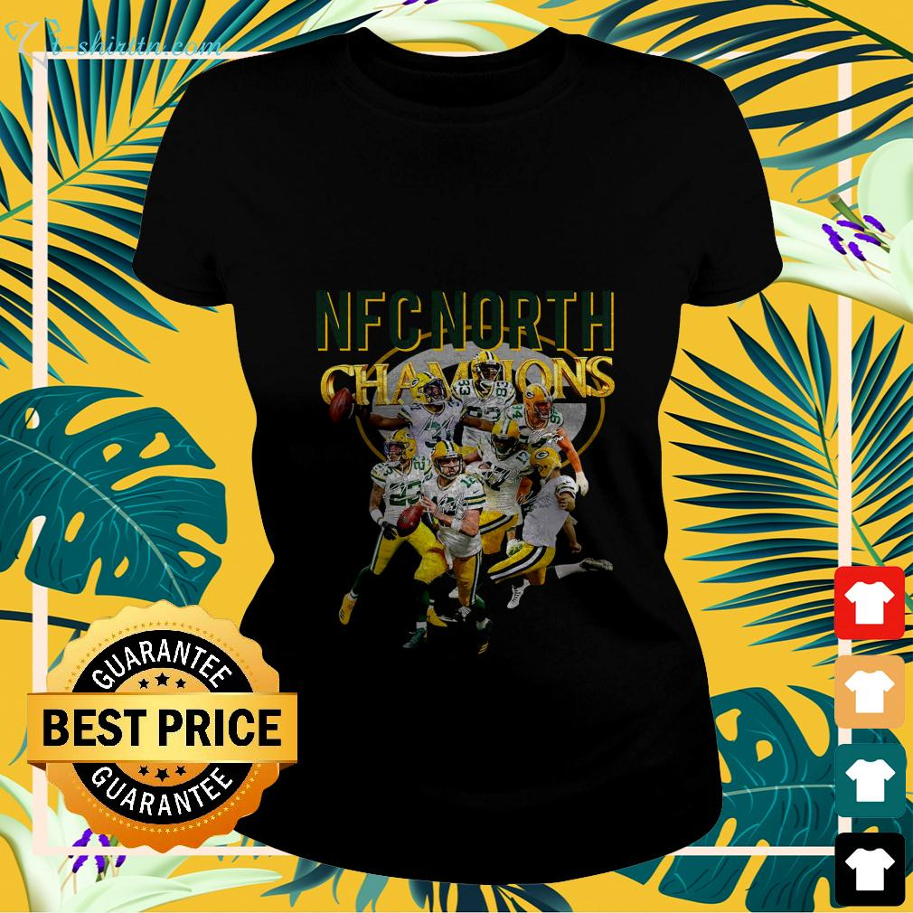 Green Bay Packers NFC North champions signature ladies-tee
