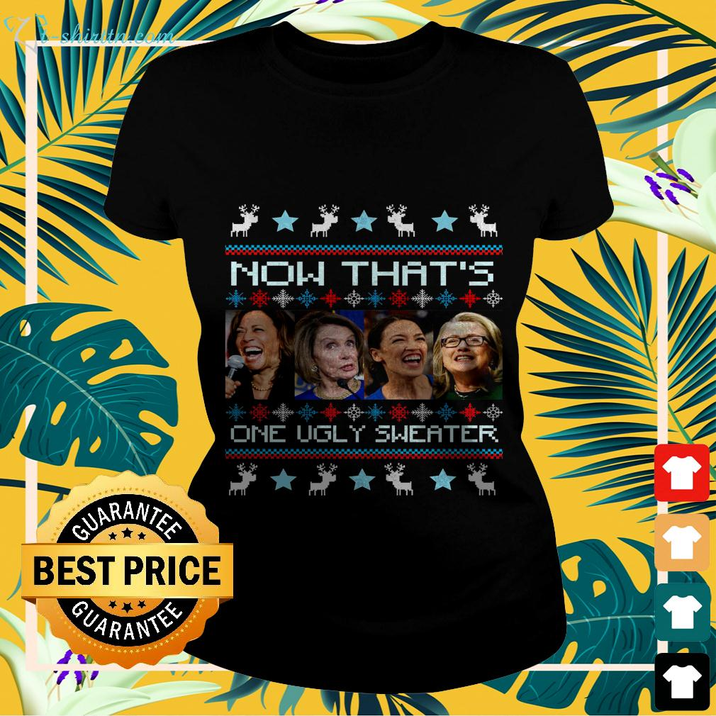 Now that's one ugly sweater 2020 ladies-tee