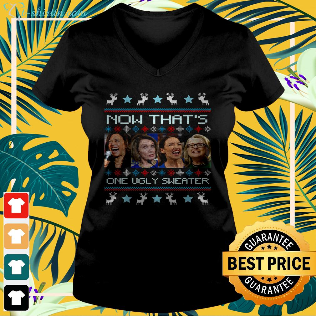 Now that's one ugly sweater 2020 v-neck t-shirt