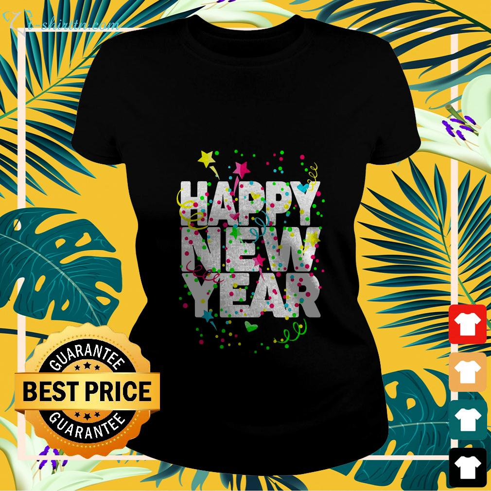 Offical Happy New Year ladies-tee