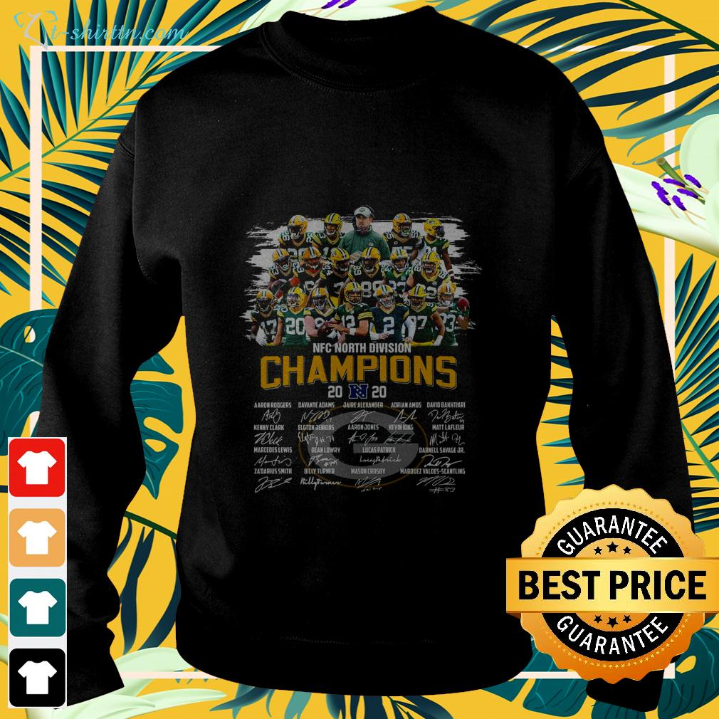 Official Green Bay Packers NFC North Division champions 2020 signature sweater