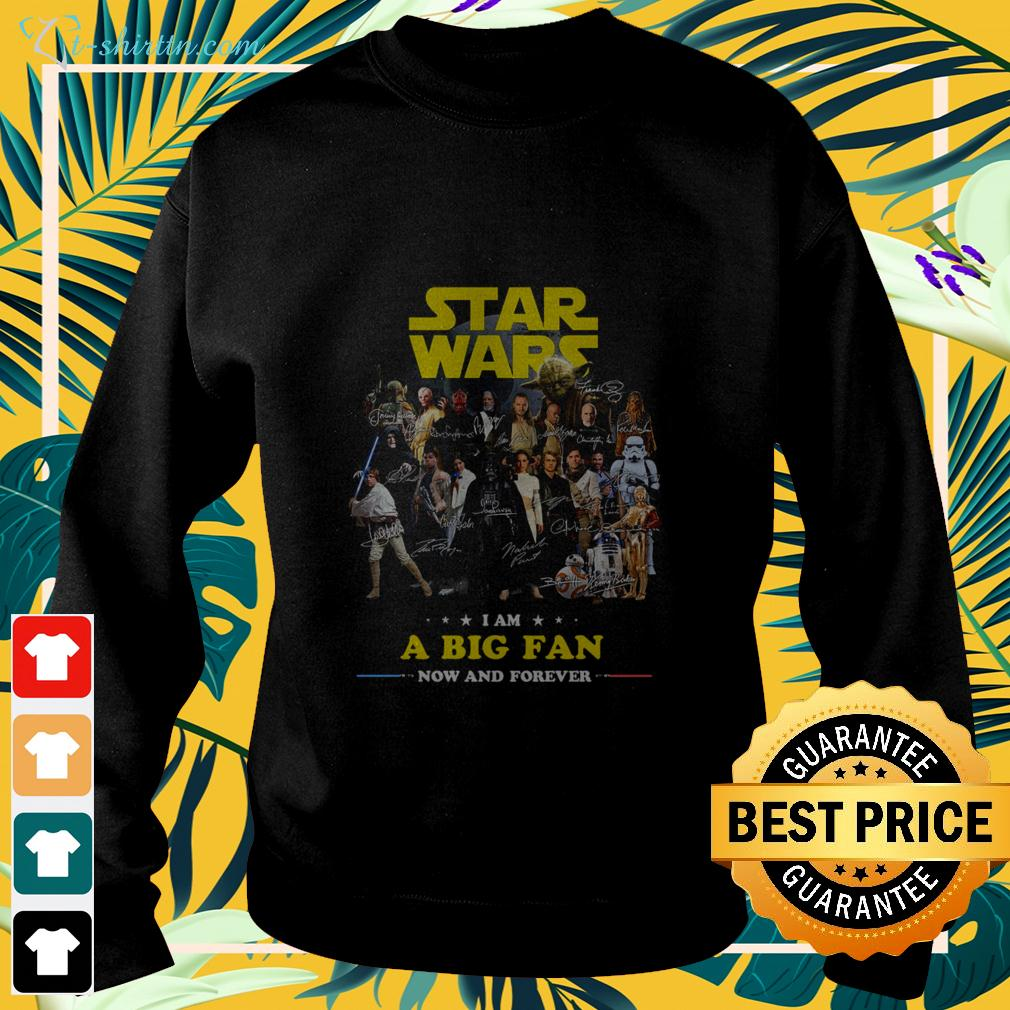 Star Wars I am a big fan now and forever signature sweater