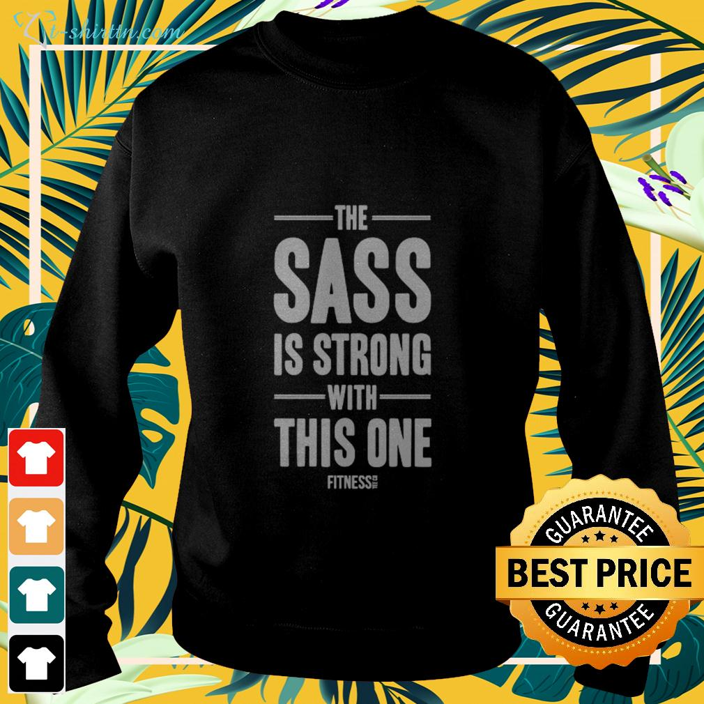 The sass is strong with this one fitness sweater