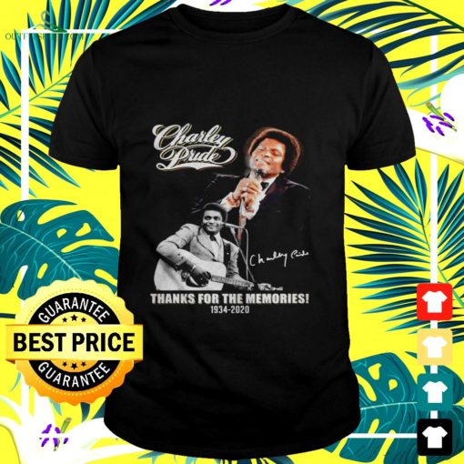 charley prude thanks for the memories 1934 2020 signature t shirt