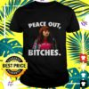 charlie peace out bitches t shirt