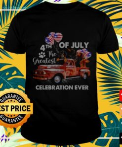 Dachshund 4th of July the greatest celebration ever t-shirt