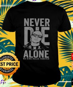 DMX never die alone no king rules forever t-shirt