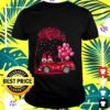 funny cute gnomes in trucks happy valentine gifts t shirt