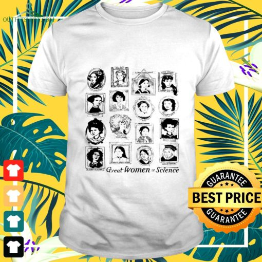 great women of science t shirt
