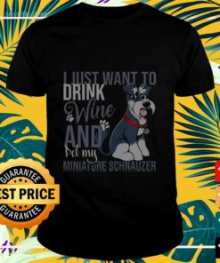I Just Want To Drink Wine SharPei t-shirt