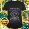 i may live in maryland but on game day my heart and soul belongs to cowboys T shirt