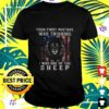 lion king your first mistake was thinking i was one of the sheep american flag t shirt