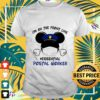 mickey mouse im on the front line essential postal worker T shirt