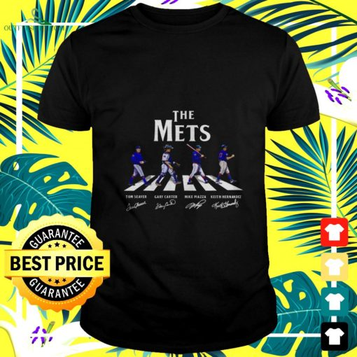 new york mets abbey road signatures t shirt