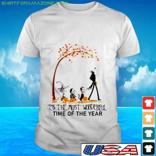 skellingotn halooween its the most wonderful time of the year t shirt