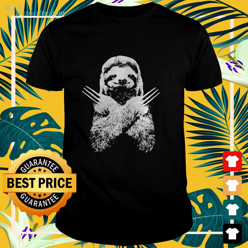 Sloth Wolverine shirt, hoodie, sweater and tank top