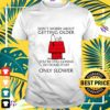snoopy dont worry about getting older youre still gonna do dumb stuff only slower t shirt