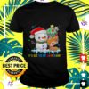 snowman and reindeer autism its ok to be different christmas t shirt