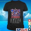 the new york rangers 95th anniversary 1926 2021 thank you for the memories t shirt