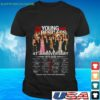 the young and the restless 47th anniversary 1973 2020 thank you for the memories t shirt 1