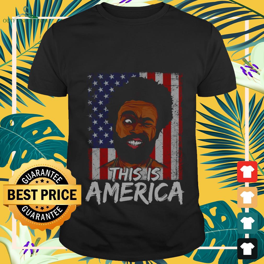 this-is-america-usa-flag-childish-gambino-T-shirt The best shop for printing t-shirts for men and women