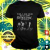 yes i am old but i saw fleetwood mac on stage signatures t shirt