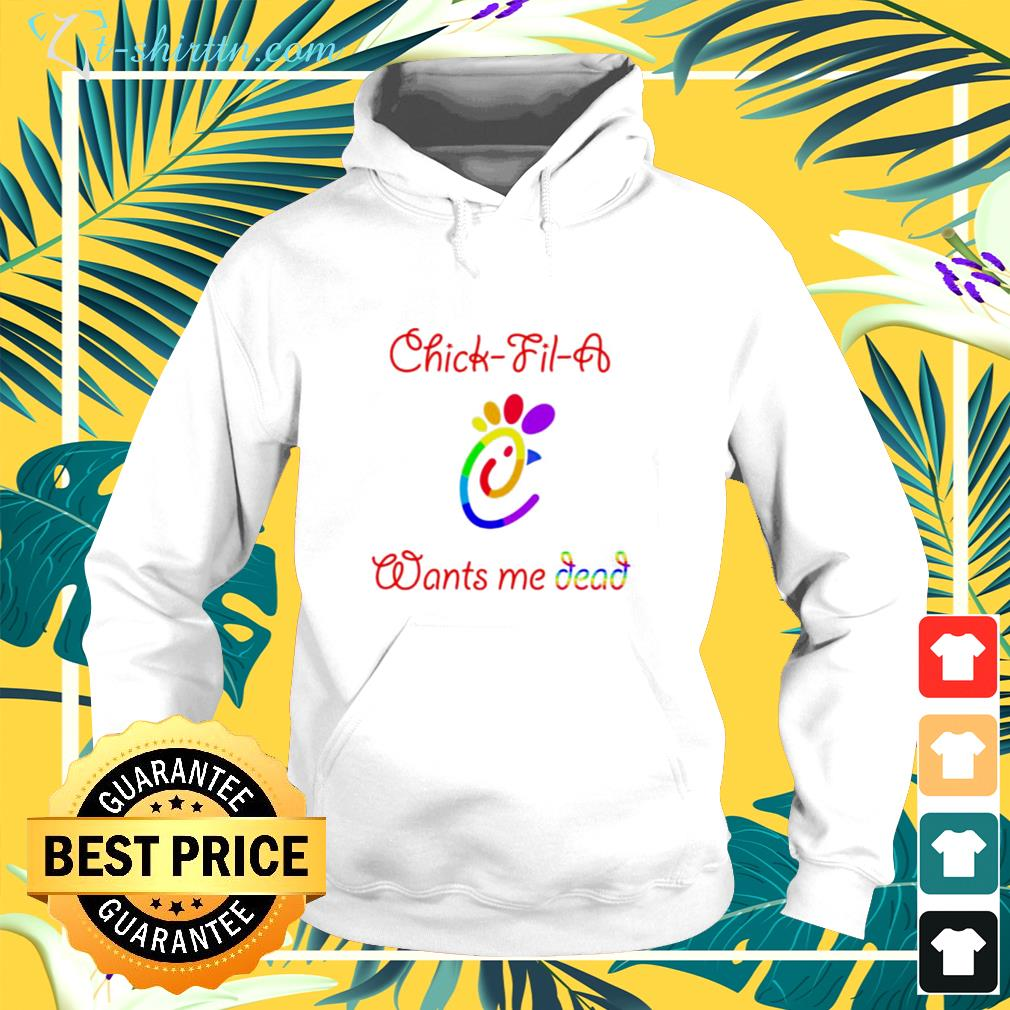 Official Chick fil a wants me dead hoodie