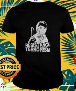 Resistance is not terrorism t-shirt