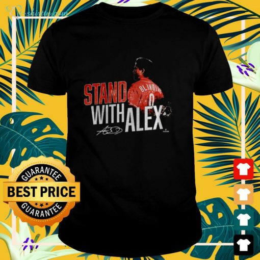 Stand with Alex signature t-shirt