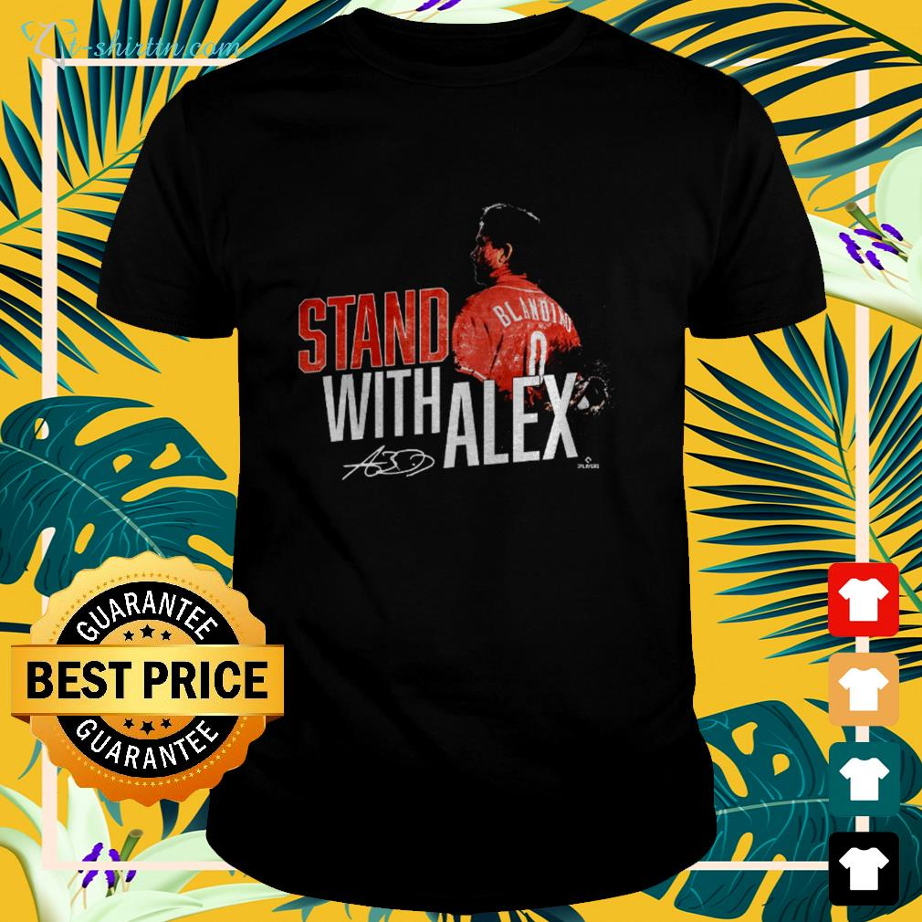 stand-with-alex-signature-t-shirt The best shop for printing t-shirts for men and women