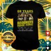 08 years 2013 2021 Brooklyn Nine Nine thank you for the memories t-shirt