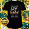 56 years 1965 2021 The Doors thank you for the memories t-shirt