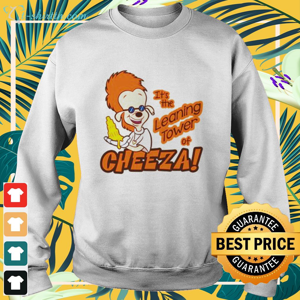 A Goofy movie It's the leaning tower of Cheeza sweater