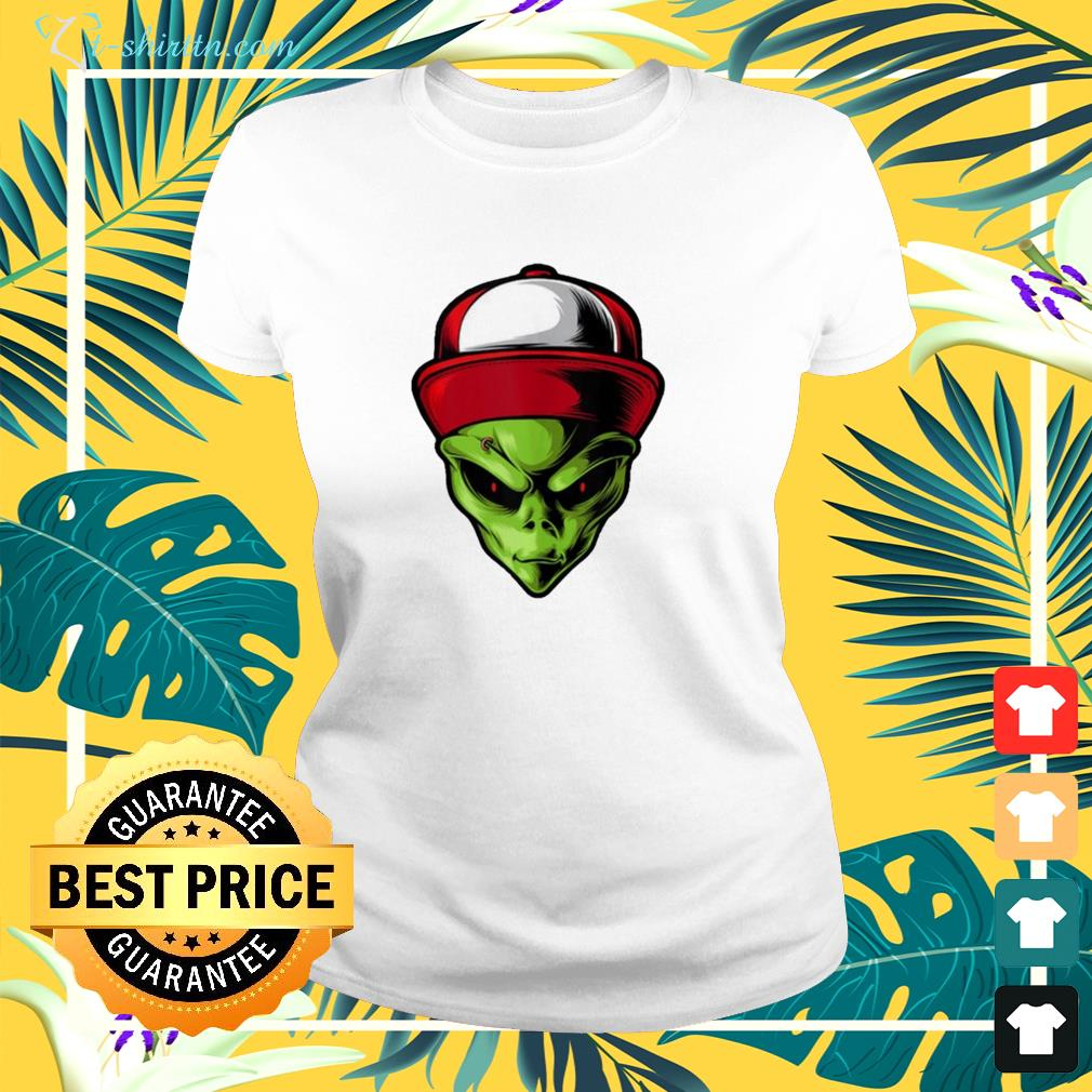 alien are you ready ladies tee