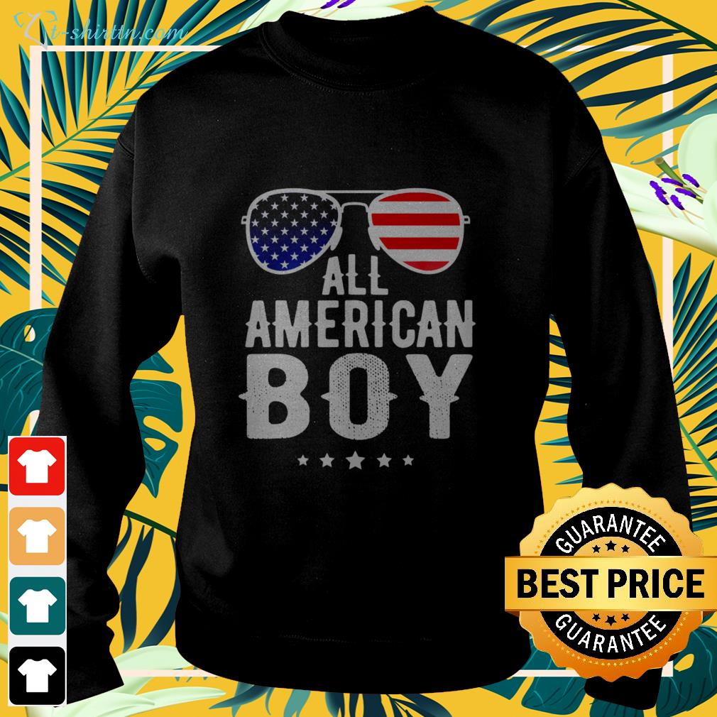 All American boy 4th of july US patriotic pride sweater