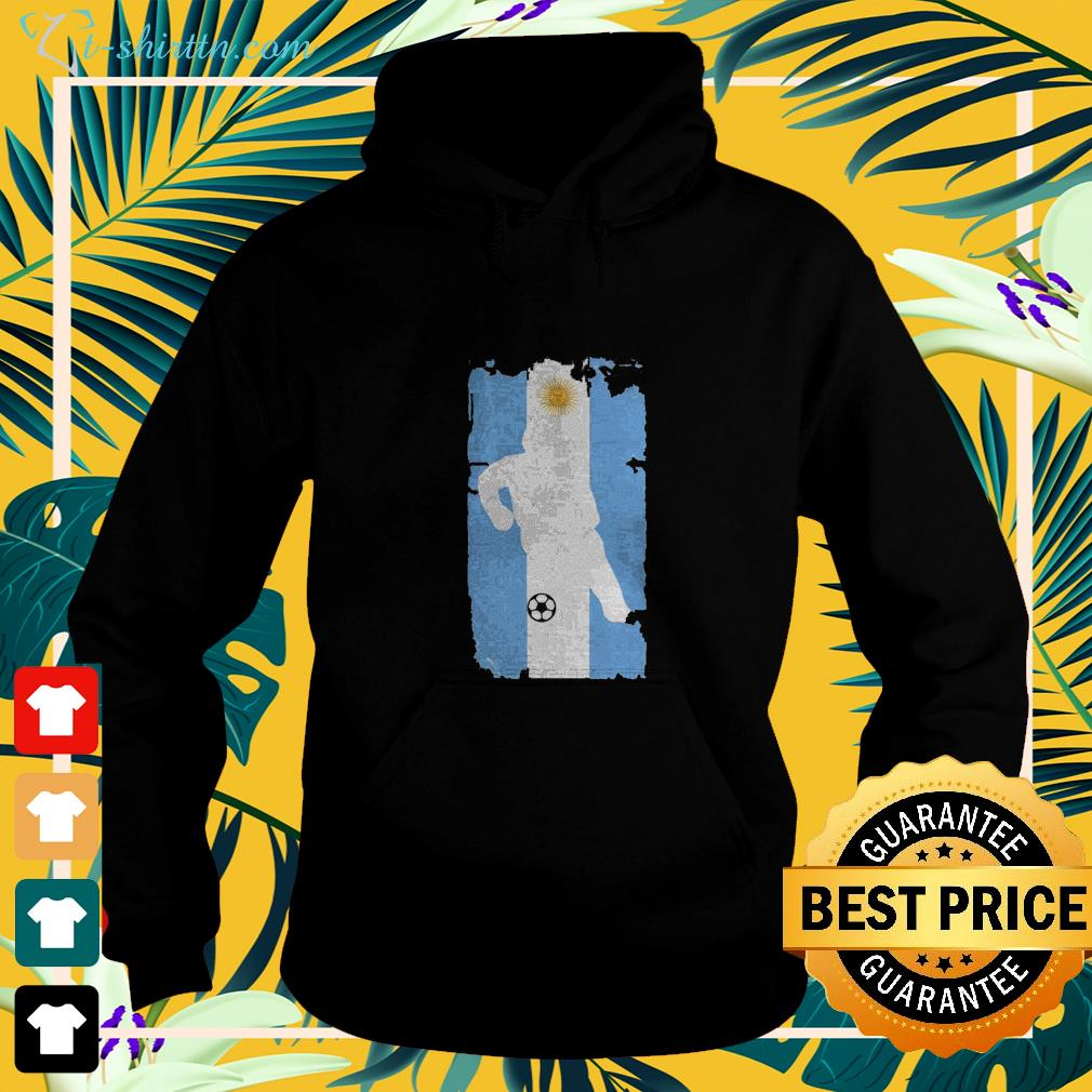 Argentina Soccer Argentinian flag football hoodie