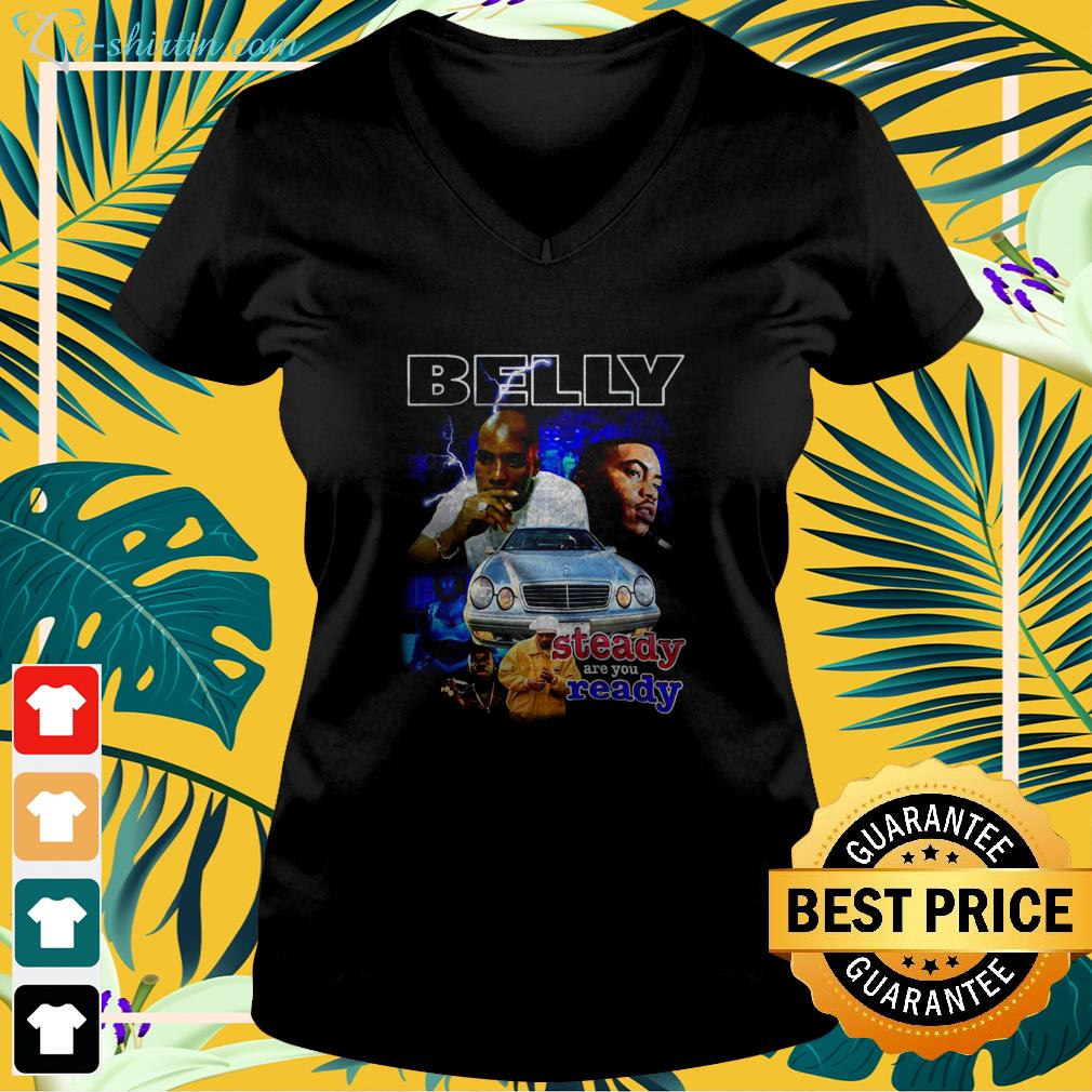 belly steady are you ready v neck t shirt 1