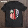Busch Banks And Brews Beer American Flag 4th Of July shirt