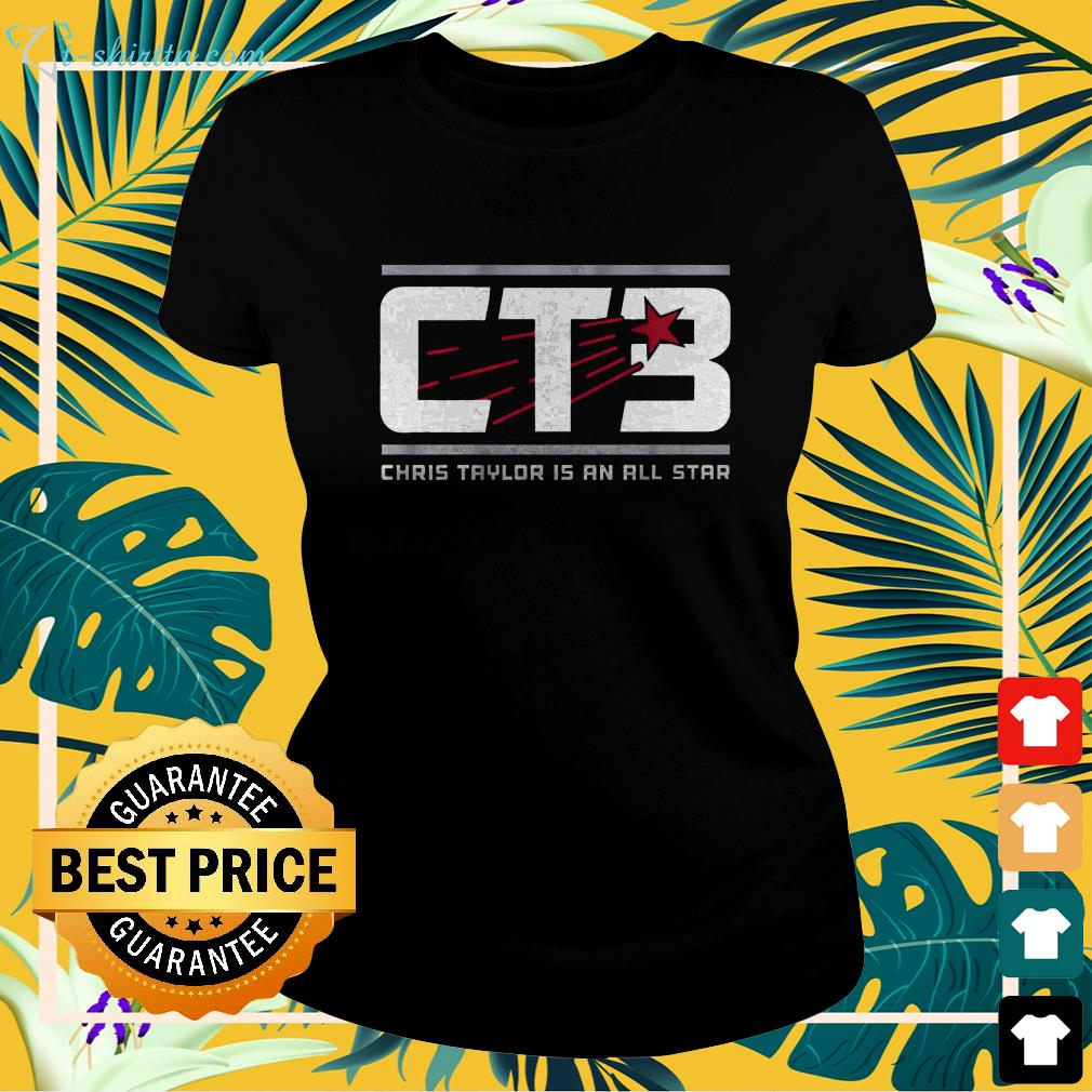 Chris Taylor is an all star CT3 ladies-tee
