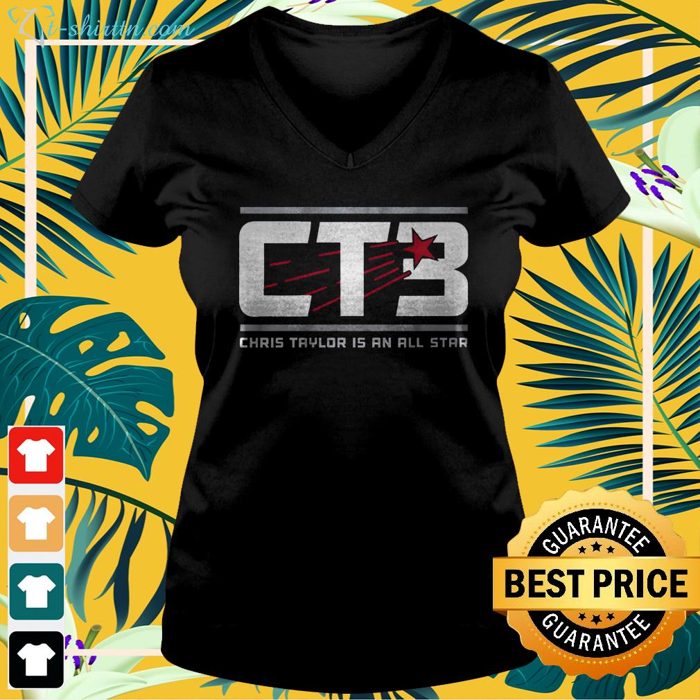 Chris Taylor is an all star CT3  v-neck t-shirt