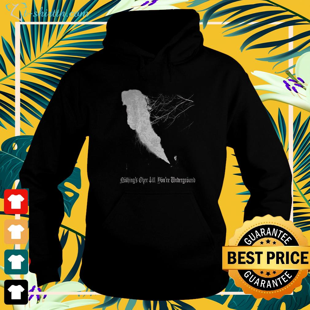 Darby Allin nothing's over till you're underground hoodie