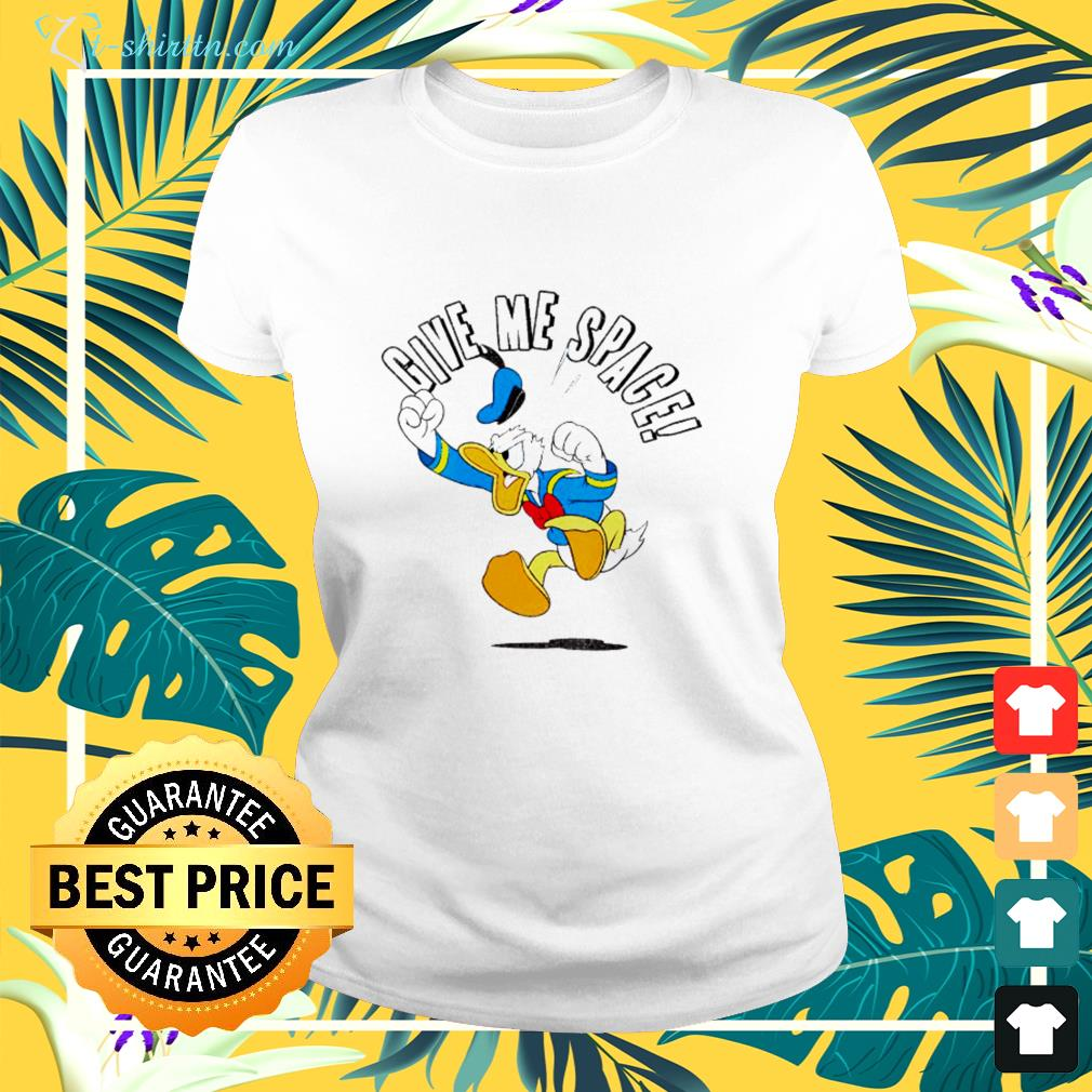 Donald Duck Give me space ladies-tee