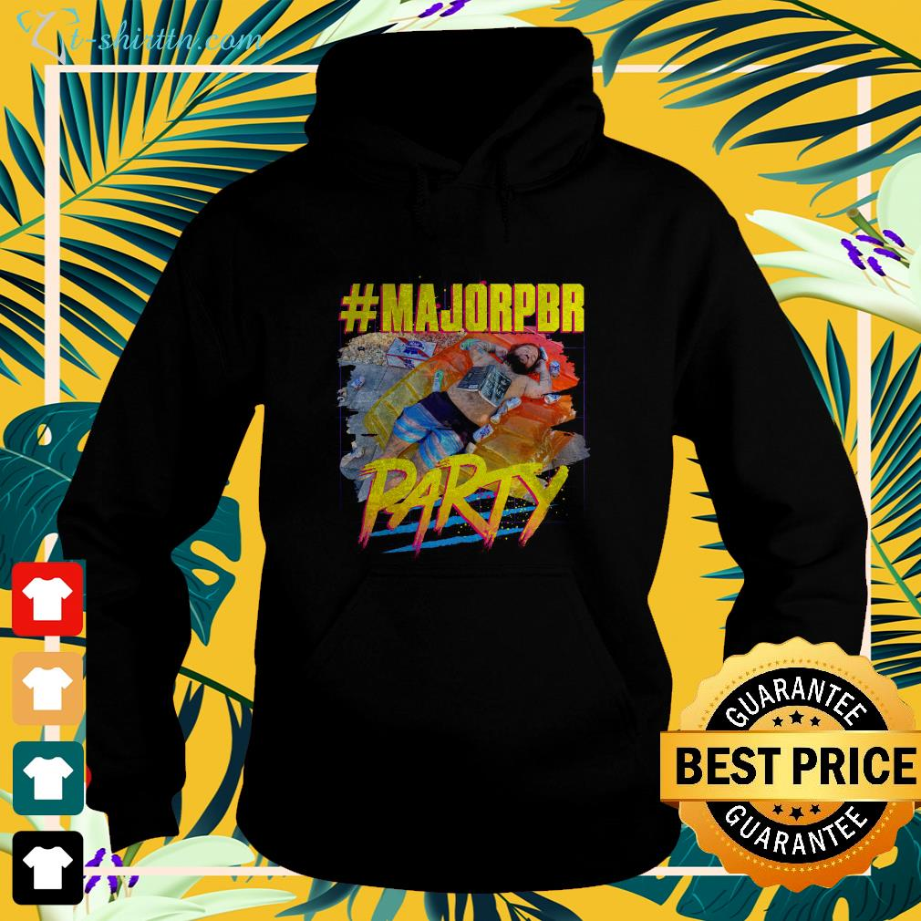 Dylan Swoggle MajorPBR party hoodie