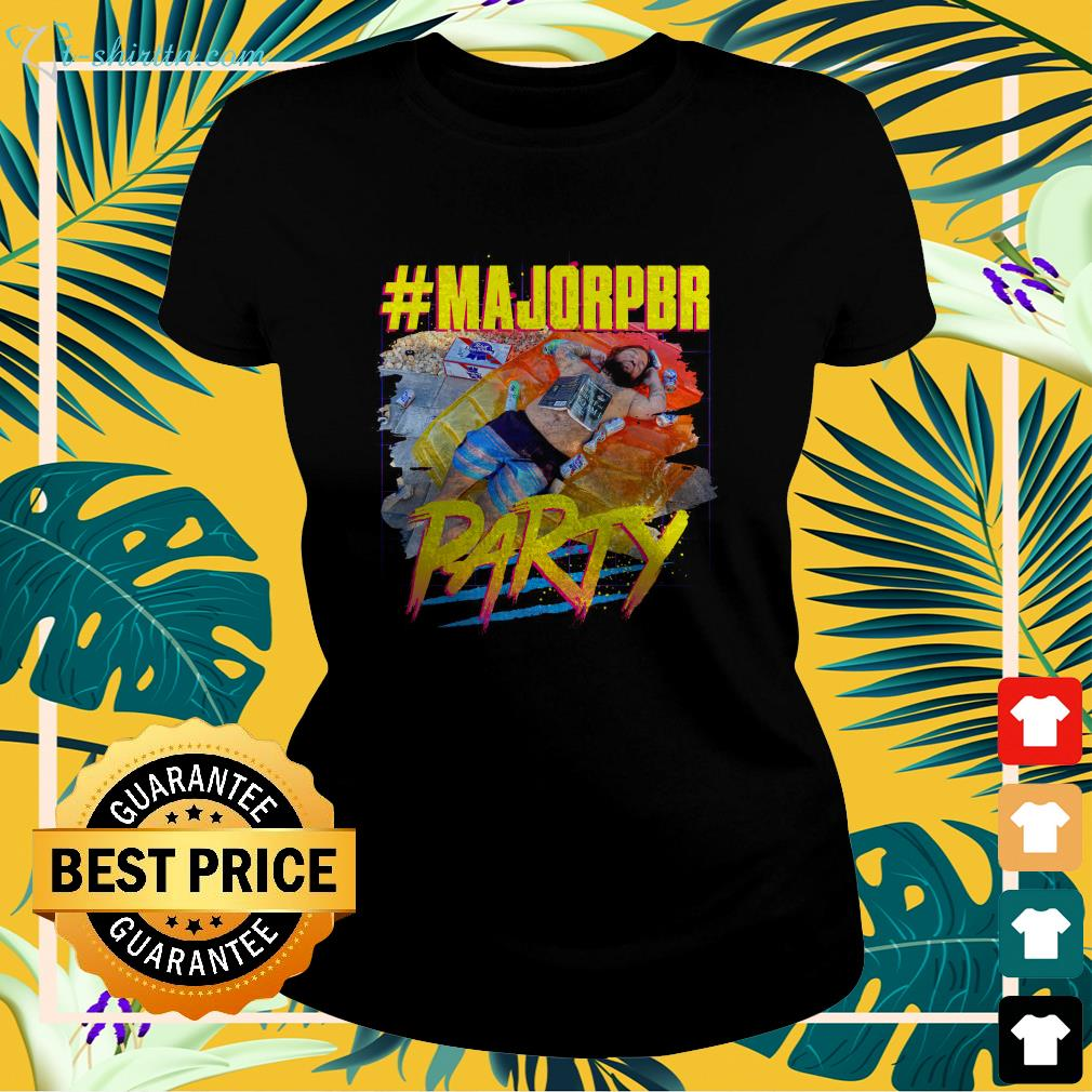 Dylan Swoggle MajorPBR party ladies-tee