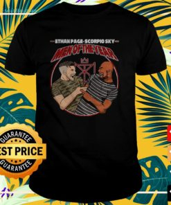 Ethan Page and Scorpio Sky men of the year t-shirt