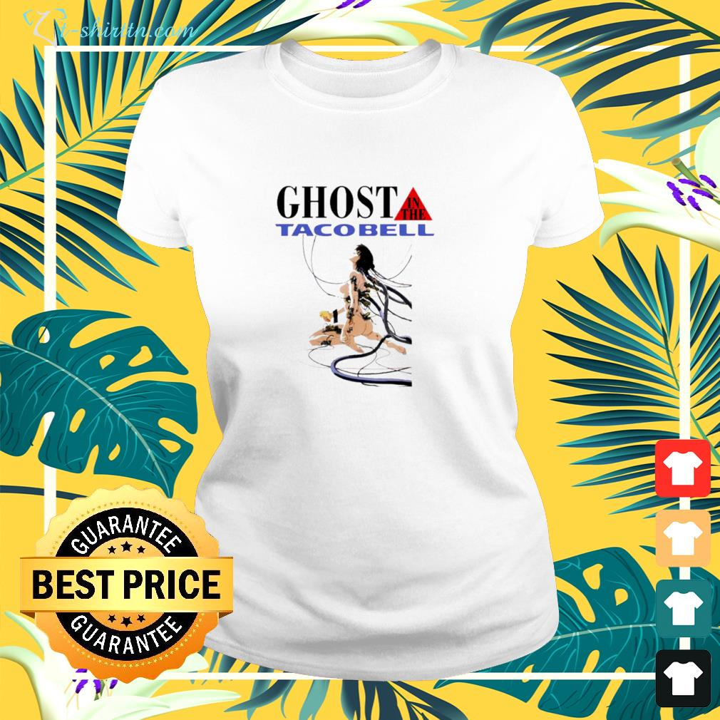 hot ghost in the tacobell ladies tee