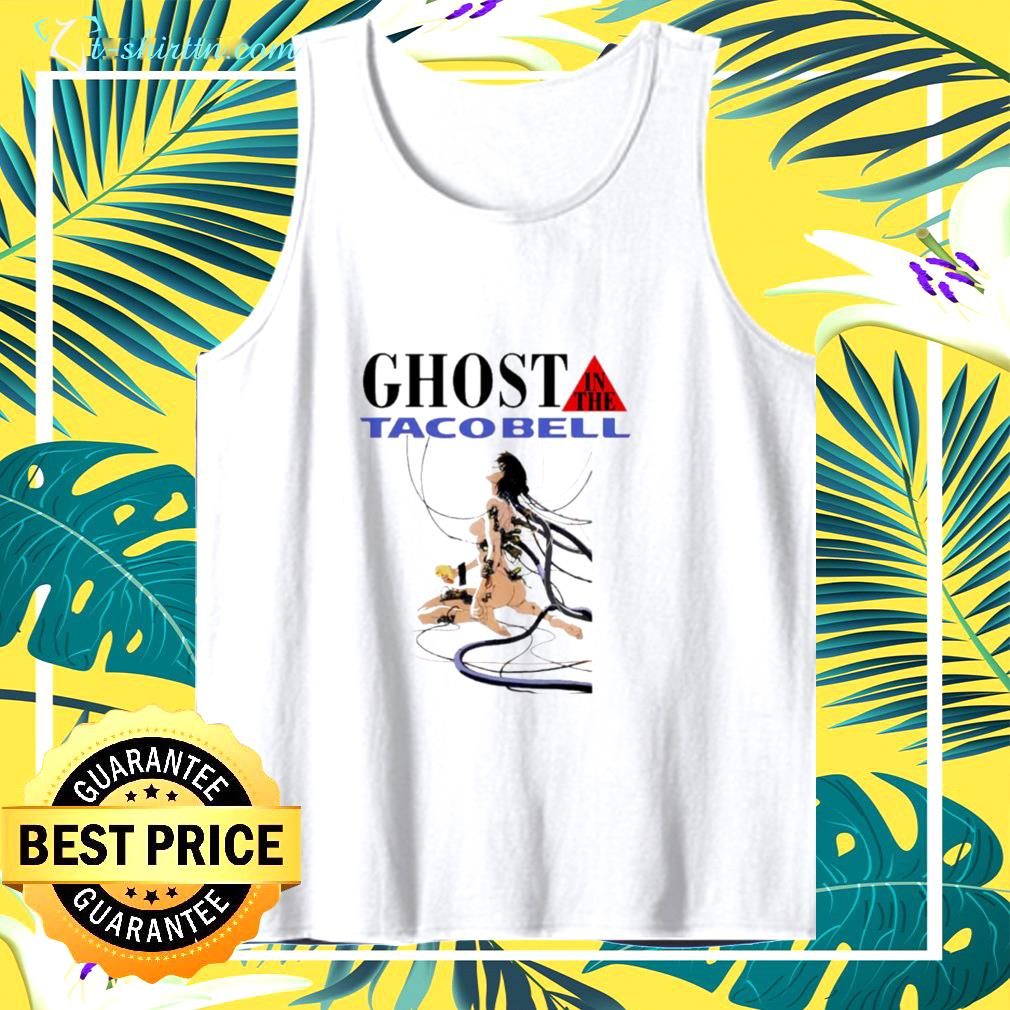 hot ghost in the tacobell tank top