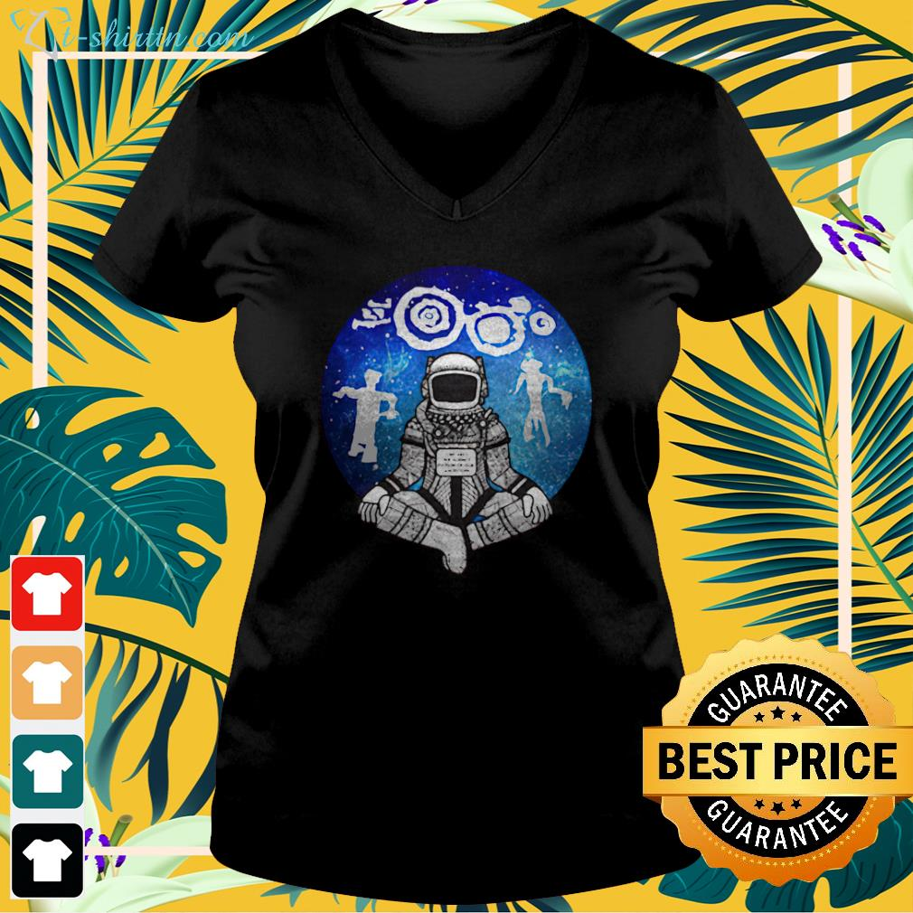johnnie jae we are the science fiction v neck t shirt